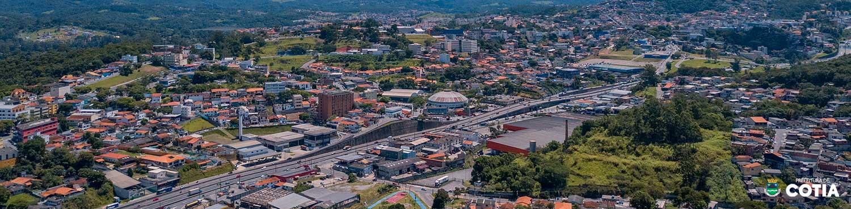 Vista aérea de Cotia