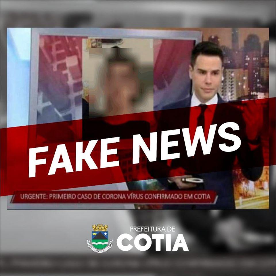Saúde informa que é falsa a notícia de caso suspeito de Covid-19 em Cotia