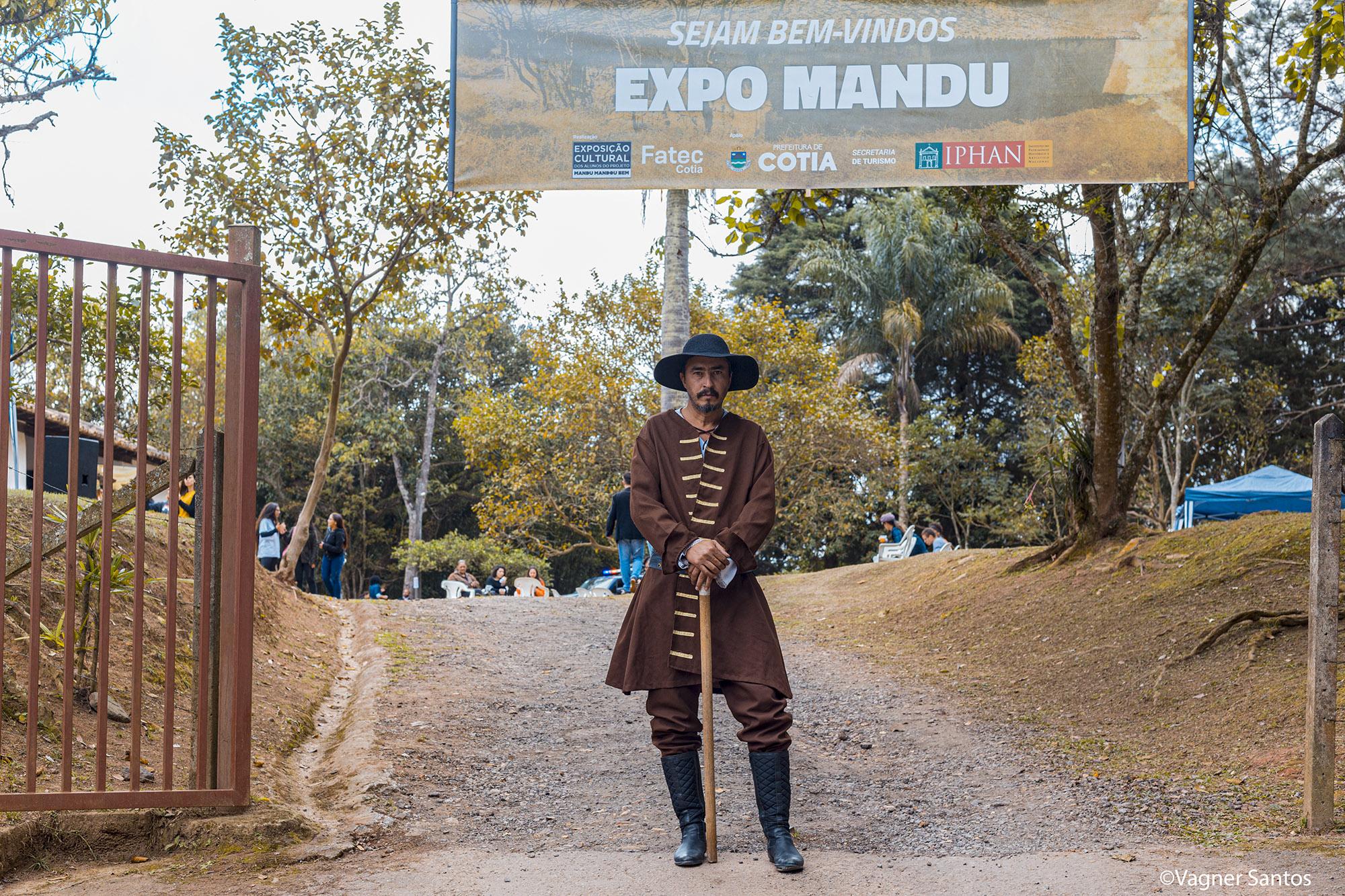 Centenas de pessoas participaram da programação da Expo Mandu