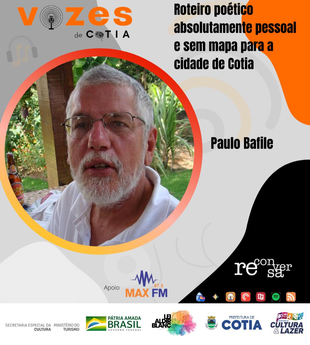 Projeto Vozes de Cotia disponibiliza o último episódio da série de podcasts