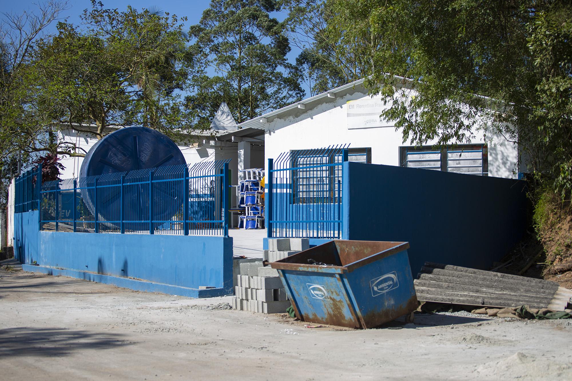 No extremo de Cotia, escola com mais de 60 anos passa por reforma completa