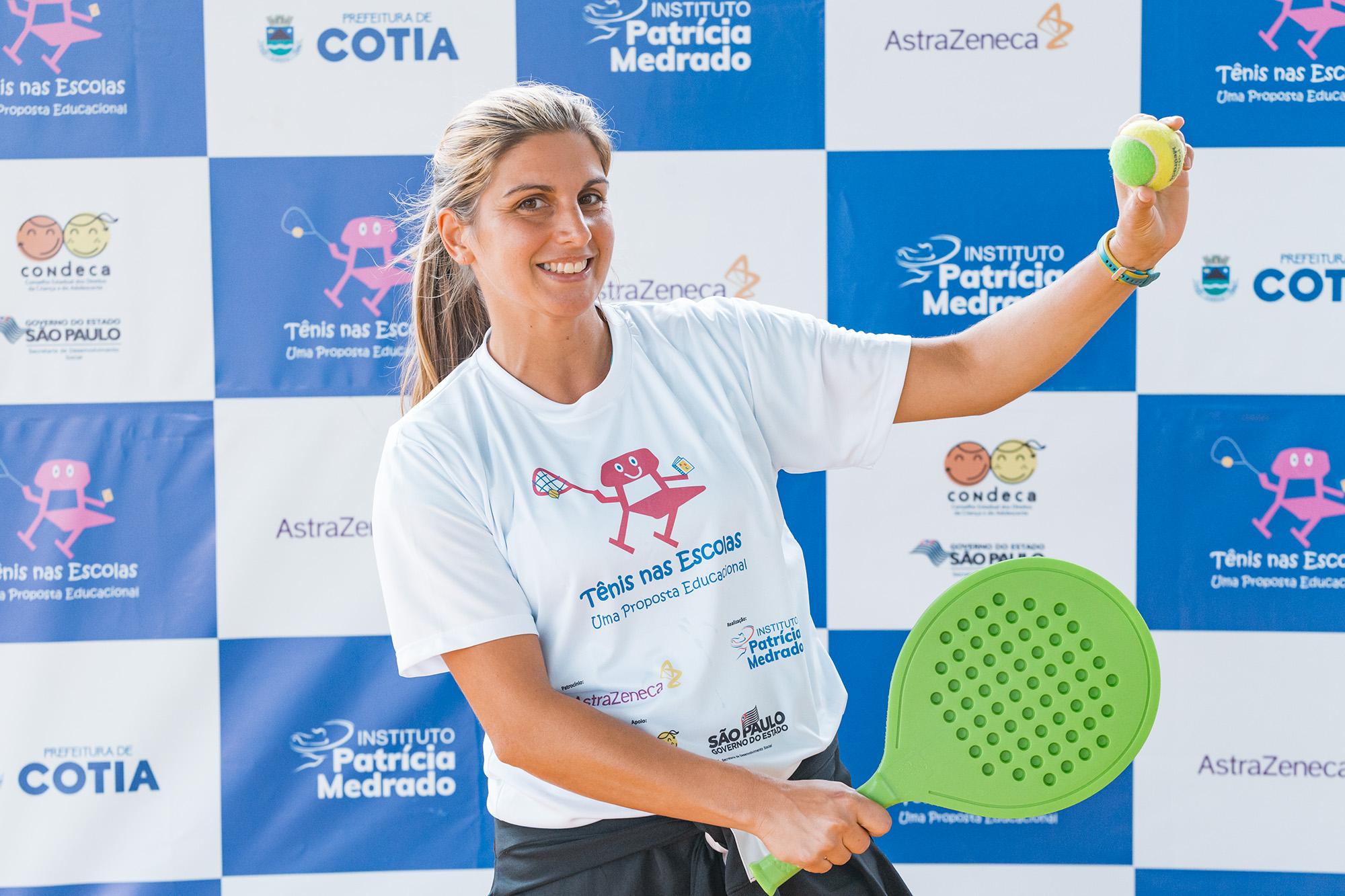 Professores de Educação Física iniciam capacitação por meio do Projeto Tênis das Escolas