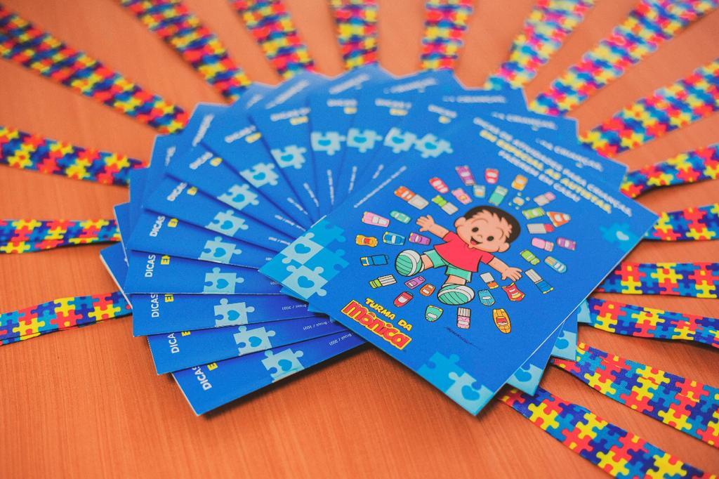 Fundo Social vai entregar revista da Turma da Mônica especial para crianças autistas