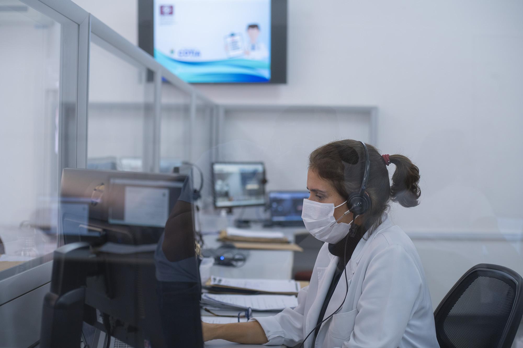 Serviço de Telemedicina da Prefeitura de Cotia já realizou quase cinco mil agendamentos